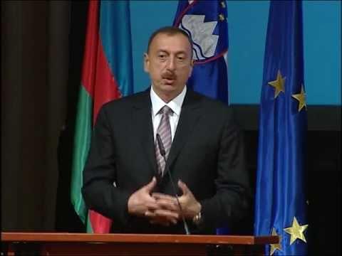 İlham Əliyevin Azərbaycan-Sloveniya biznes forumunda nitqi. 10.06.2011