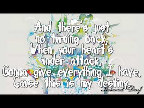 Justin Bieber ft. Jaden Smith - Never say never Lyrics