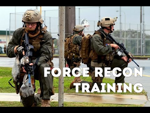 US Marines Force Recon Training - USMC Force Recon Training