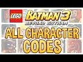 LEGO Batman 3 All Character Codes mp3
