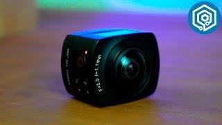 OKAA Camera   La cámara deportiva que graba en 360º
