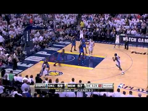 NBA Playoffs 2011: OKC Thunder Vs Memphis Grizzlies Game 6 Highlights (3-3)