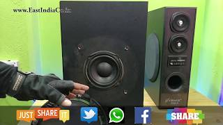 Obage DT-2425 Tower Speaker UnBoxing, Sound Test & Review by AKS