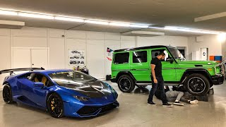 STRAIGHT PIPING ALIEN GREEN MERCEDES AMG G63 *CRAZY LOUD*