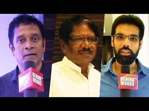 Kurangu Bommai Celebrity Reactions in Premier Show | Vidharth | Bharathiraja | TN 266