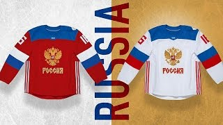 Team Russia Jersey Reveal