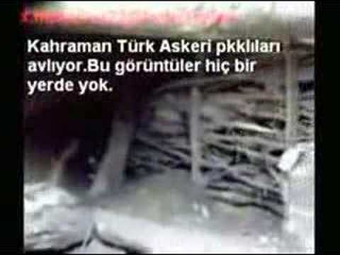 Kuzey Irakta Turk Askeri PKK li avliyor