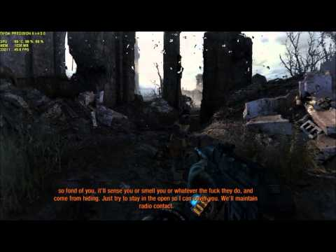 Metro Last Light Very High SSAA OFF  Evga gtx 580