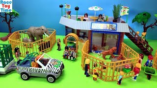 Playmobil Animals Zoo Building Playset - Fun Animal Toys For Kids