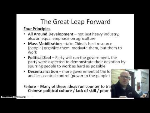 China Political and Economic Change