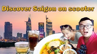 Explore Saigon on scooter - Saigon Travel Vlog - Breath Of The Mekong Tours