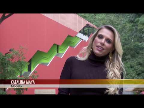 La modelo Catalina Maya visitó nuestro Canal Parque Telemedellín [Noticias] - TeleMedellin