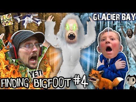 FINDING BIGFOOT GAME: The Yeti vs FGTEEV! (Glacier Bay Map New Update w/ Bendy & Granny Items?)