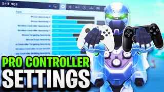 BEST CONTROLLER SETTINGS in Fortnite! PRO PLAYER SETTINGS FOR PS4/XBOX! (Fortnite Best Sensitivity)