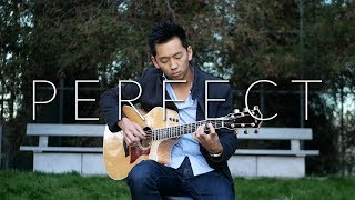 Download Lagu Perfect (Ed Sheeran) -  Fingerstyle Guitar Cover Gratis STAFABAND
