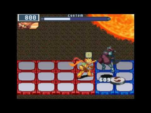 MMBN5DS: DS Boss Rush w/ Sol Cross P1