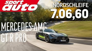 Mercedes-AMG GT R Pro   Hot Lap   Nordschleife   sport auto   Supertest