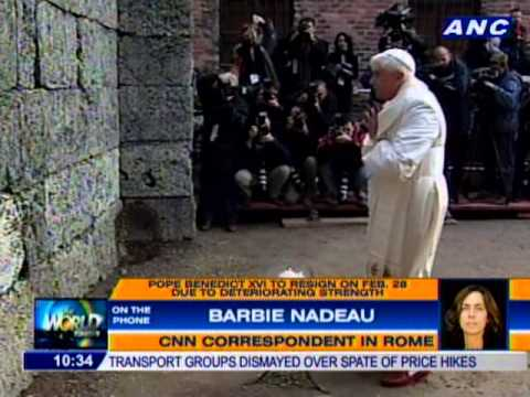 CNN's Barbie Nadeau on Pope Benedict XVI's resignation