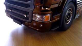 Tamiya Scania r730 Black Amber.