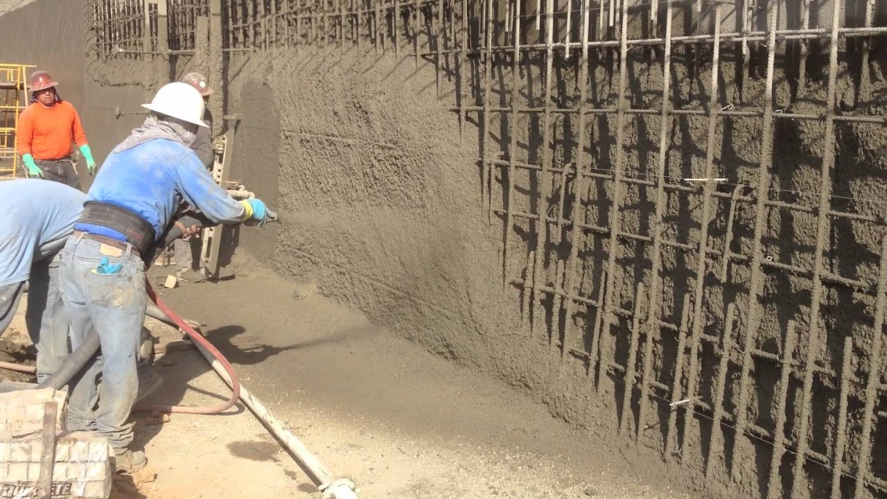 Pacific Star Shotcrete Retaining Wall Youtube