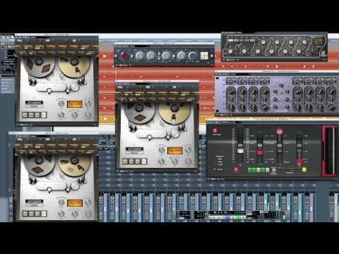 Studer A800 Multichannel Tape Recorder Trailer for UAD-2