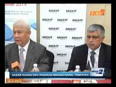 TV2 NEWS on 3rd National Marine Industries Forum 2014