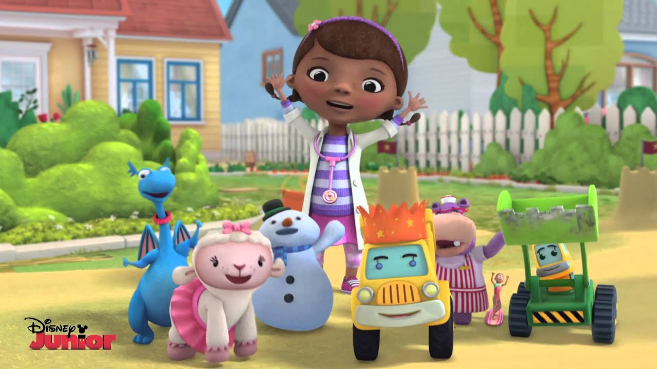 It's just an image of Adaptable Doc Mcstuffins Background