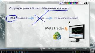 Рынок Forex. Структура и Терминал МТ4. Фрагмент вебинара. Виталий Сергиенко