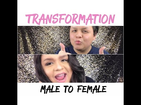 Male to Female Transformation   My First Video