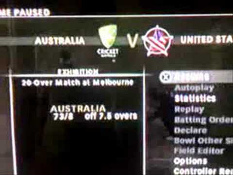 funny cricket 2007