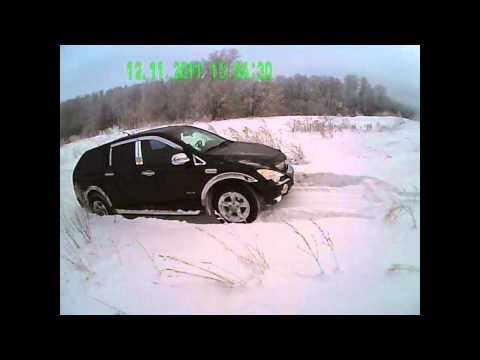 SsangYong Actyon Sports: по снегу