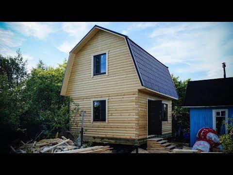 Брусовой дом 6*5 - внутренняя отделка