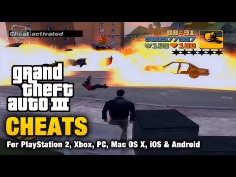 GTA 3 - Cheats