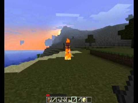обзорчик по игре minecraft часть 3 охота.wmv