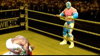 WWE All Stars CAW Sin Cara Gameplay + Formula