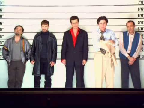 Usual Suspects Police Line-up French