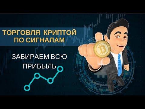 Торговля криптовалютой по сигналам с трейлингом - забираем прибыль в биткоине по максимуму