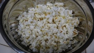 How to Cook Homemade Kettle Corn - Made in the Microwave