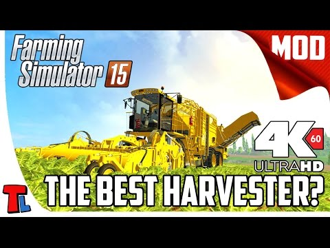 Ropa Europe Review | Farming Simulator 2015 Best Mods | 4K 60 fps Gameplay |