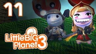 LittleBigPlanet 3 - Прохождение игры на русском - Кооператив [#11] PS4