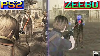 Todas as versões de Resident Evil 4 ( Curiosidades dos Jogos / Games Análise Android / HD Project )