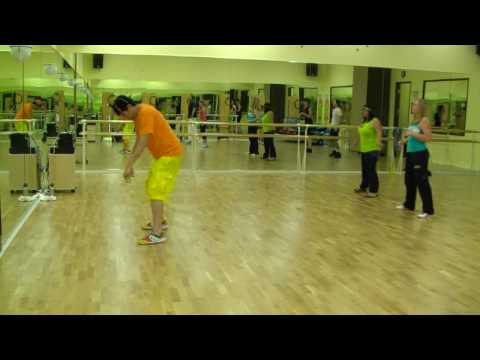 Cha Cha Slide - Mr C Line Dancing  Warmup Zumba Fitness w Bradley...
