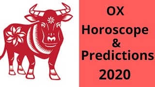Ox Horoscope & Predictions 2020| Ox Forecast