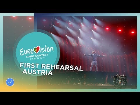 Cesár Sampson - Nobody But You - First Rehearsal - Austria - Eurovision 2018