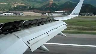 American Airlines 757Bouncing Landing @ SVMI