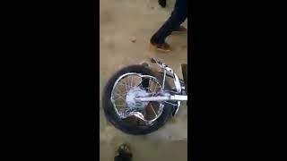 Top Worst Dangerous Bike Accident | in Karachi Sea View  | Do Darya Race Track.