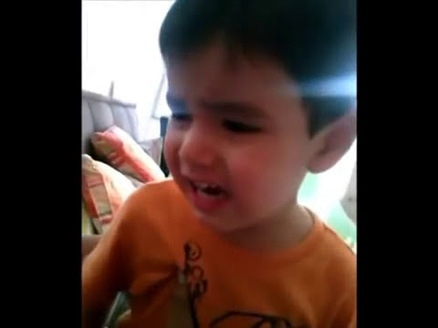 Niño no sabe decir Hipopótamo y se vuelve loco muy divertido   Crazy Kid