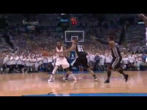Oklahoma City Thunder Headed to NBA Finals Beat Spurs 4 - 2 NBA Playoffs 2012 Game 6