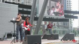 Faakhir Performs Deewana in Mississauga on South Asian Canada Day 2012