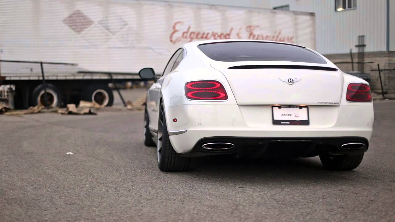 Pfaff Tuning Bentley Continental Gt Le Mans Edition